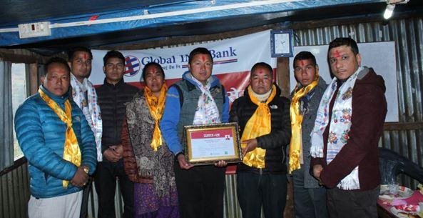 ग्लोबल आइएमई बैंकको ६९औँ शाखारहित बैंकिङ्ग सेवा रोल्पामा