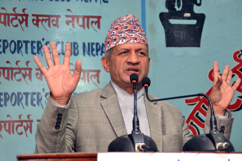 नेपाल र भारत आपसमा अन्तरनिर्भरः परराष्ट्रमन्त्री ज्ञवाली