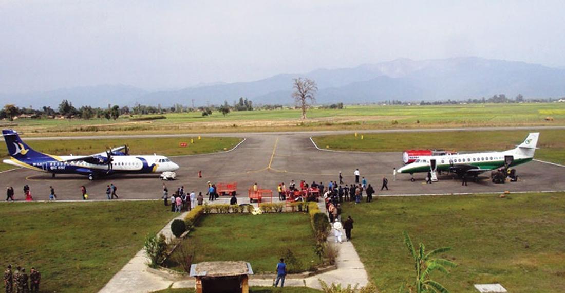 धनगढी विमानस्थल पुनः सञ्चालन