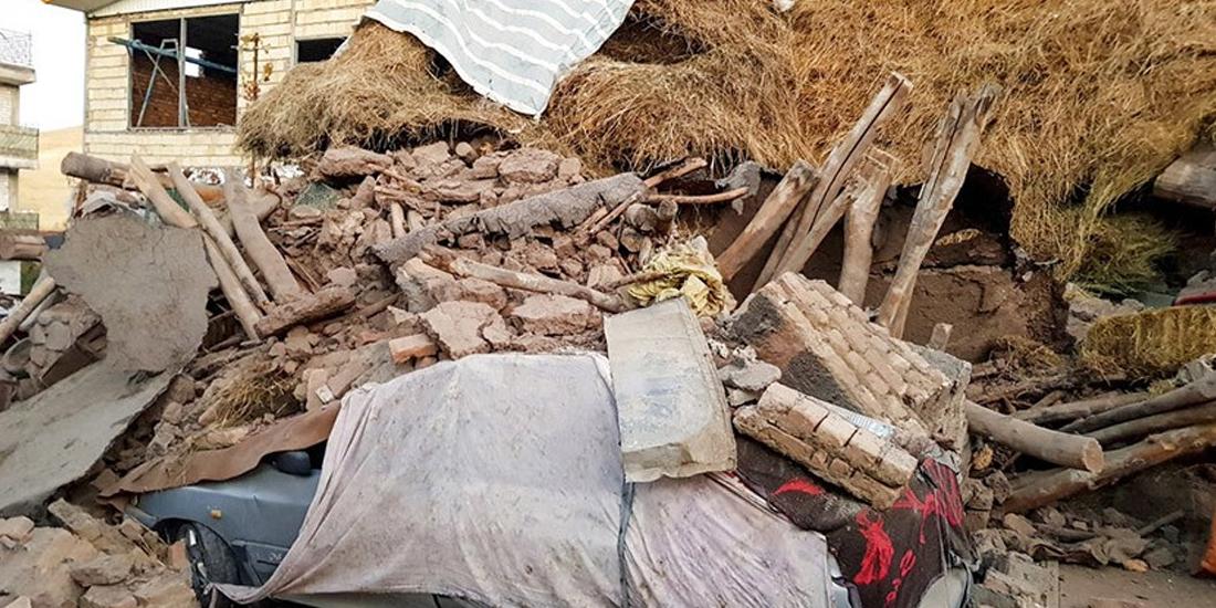 इरानमा भूकम्प : पाँचजनाको मृत्यु, १२० जना घाइते