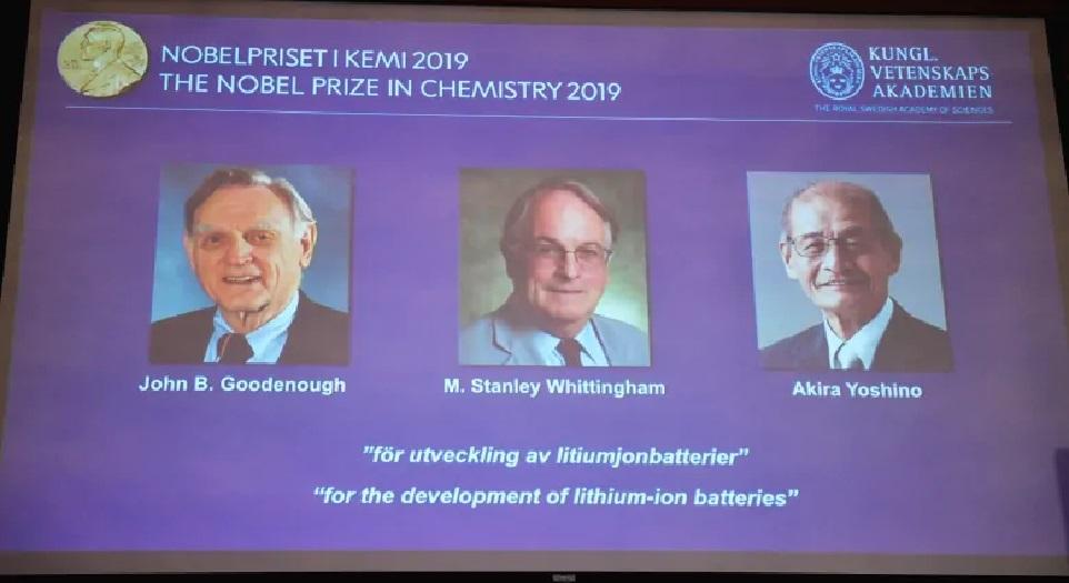 रसायनशास्त्रतर्फको नोबेल पुरस्कार तीनजनालाई