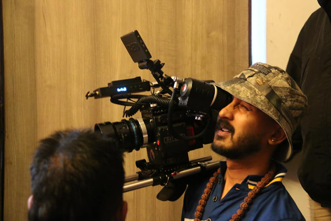 'आमा'को छायांकन सकियो, साउन्डका लागि इन्डिया जाँदै