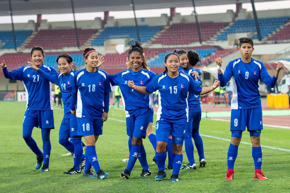 महिला फुटबल टोलीको प्रशिक्षण आइतबारबाट