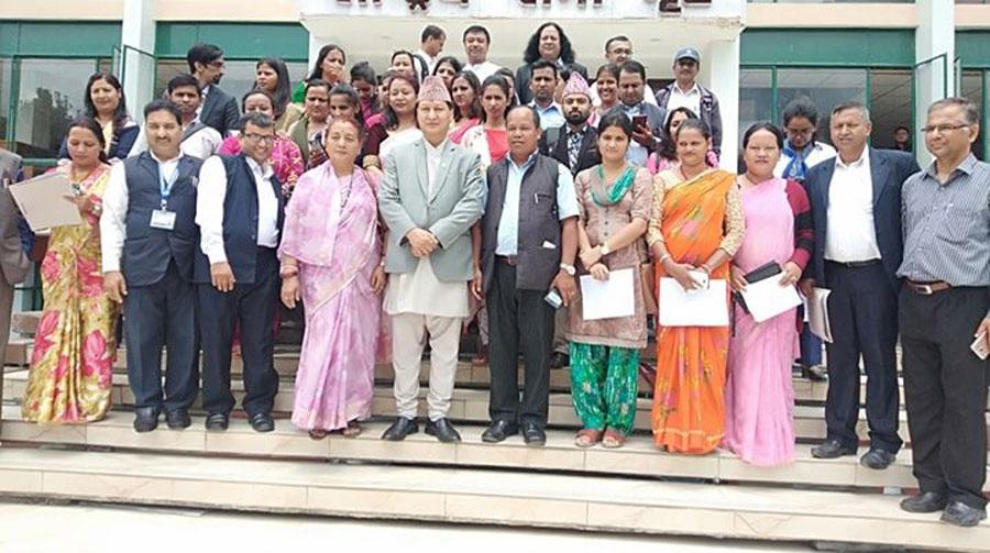 काठमाडौं महानगर क्षेत्रका सामुदायिक विद्यालयमा एकरुपता ल्याइने