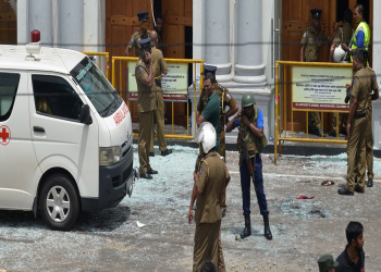 श्रीलंकामा आतंक