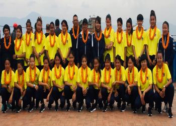 यु–१९ फुटबल टोली चीन प्रस्थान