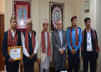 बेरूजु फर्छ्योट मापनको वर्गीकरणमा नेपाल प्रहरी सर्वोत्कृष्ट