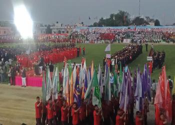 यस्तो रह्यो आठौं राष्ट्रिय खेलकुदको उद्घाटन कार्यक्रम (तस्बिरसहित)