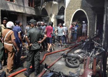 श्रीलंकामा फेरि विस्फोट, मर्नेको संख्या १८७ पुग्यो(अपडेट)