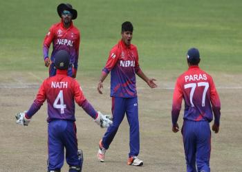 एकदिवसीय क्रिकेटमा नेपाल एक स्थान माथि