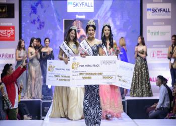 'मिस नेपाल पिस–२०१९'को उपाधि रेश्मा प्रसाईंलाई