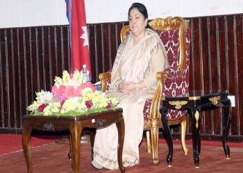 राष्ट्रपति भण्डारीसँगै ५ देशका राष्ट्राध्यक्षलाई चीनमा राजकीय सम्मान दिइने