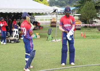 नेपाल कुवेतविरुद्ध ८ विकेटले विजयी