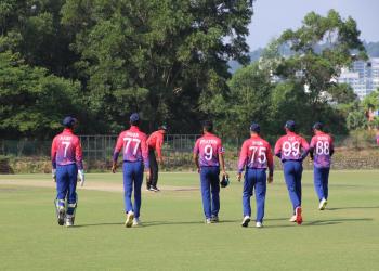 यु–१९ क्रिकेट टोली स्वदेश फर्किदै