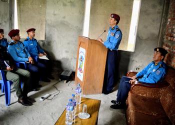 धार्मिक अतिवादका घटना हुन नदिन मातहतका प्रहरी अधिकारीलाई निर्देशन