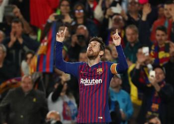 मेस्सीको दुई गोल, बार्सिलोना सेमिफाइनलमा